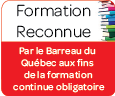 Formation Reconnue