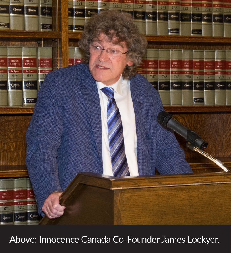 Innocence Canada Co-Founder James Lockyer.