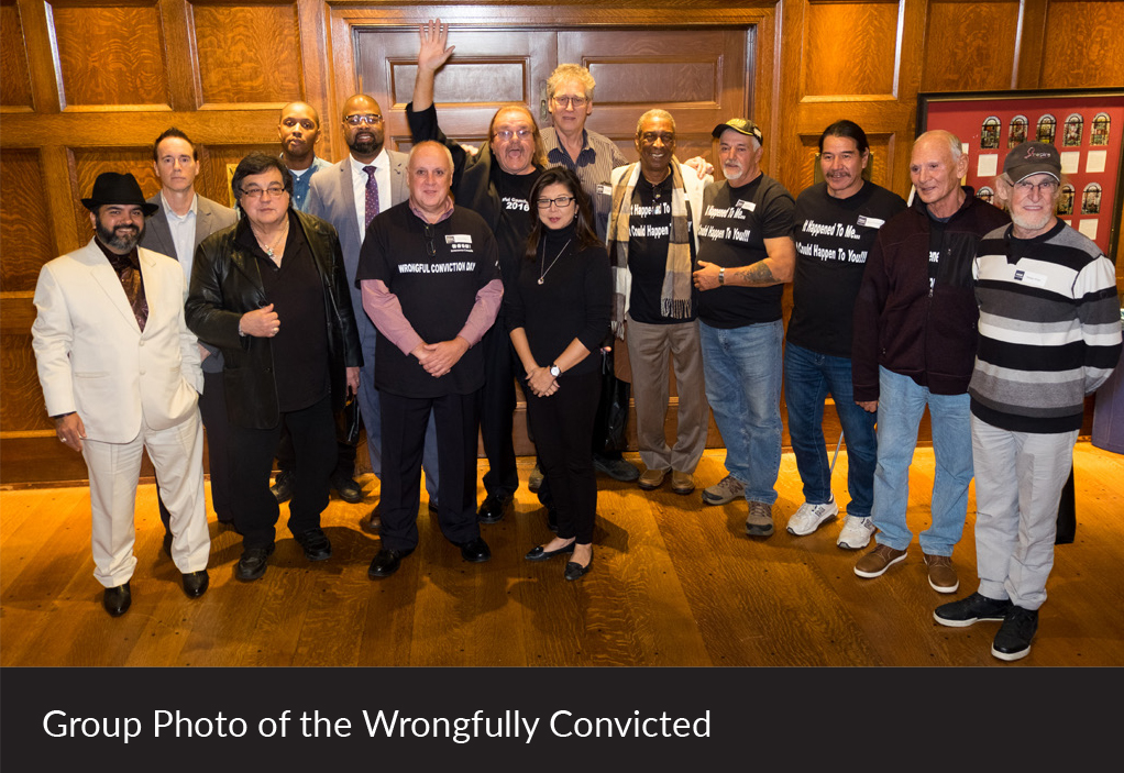 Group Photo of the Wrongfully Convicted