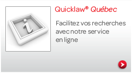 Quicklaw Quebec