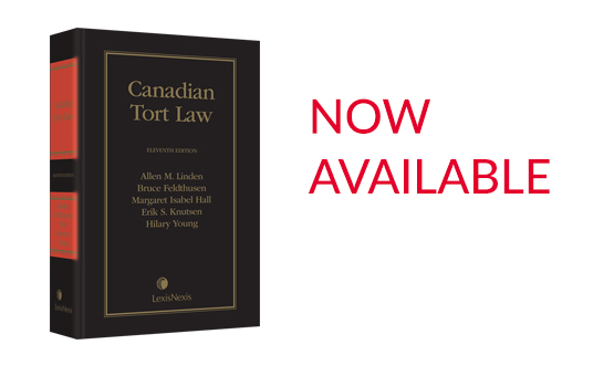 /mobile0c9a66/Canadian Tort Law, 11th Edition