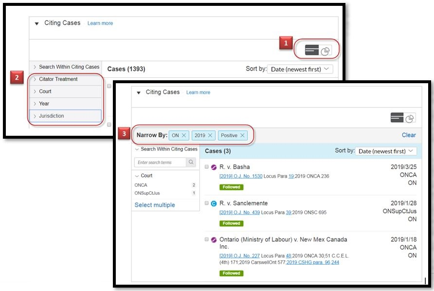 New QuickCITE List View Option Provides Expanded Filtering Capabilities